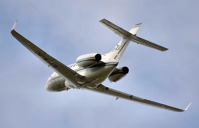 letoun ve vzduchu