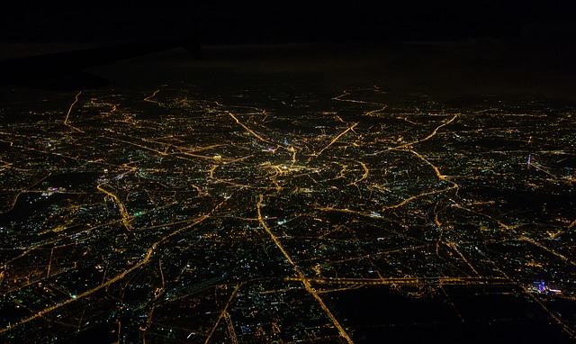 noční mapa